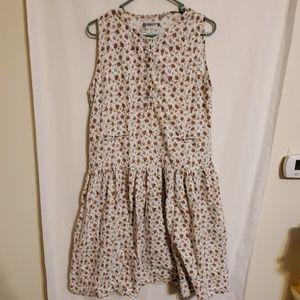 Vintage | Rose Midi Dress